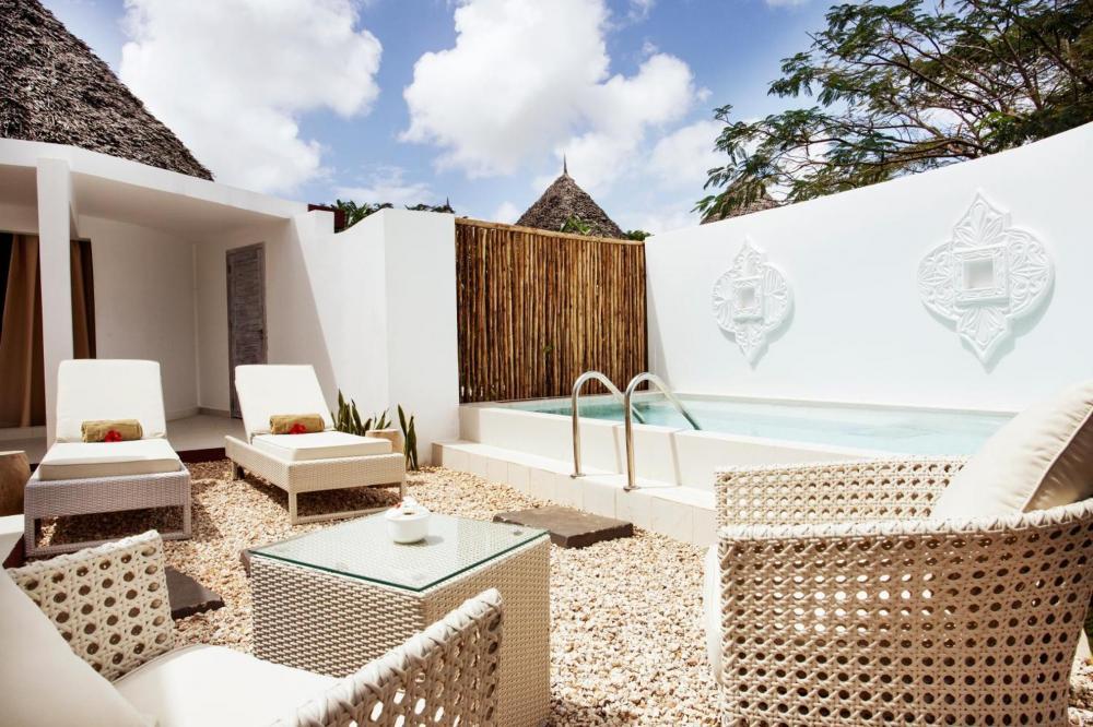 Hotel with private pool - Gold Zanzibar Beach House & Spa