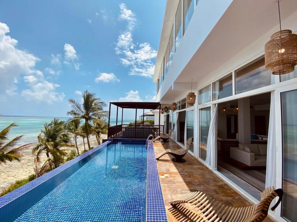 Hotel with private pool - Le Mersenne Beach Resort Zanzibar