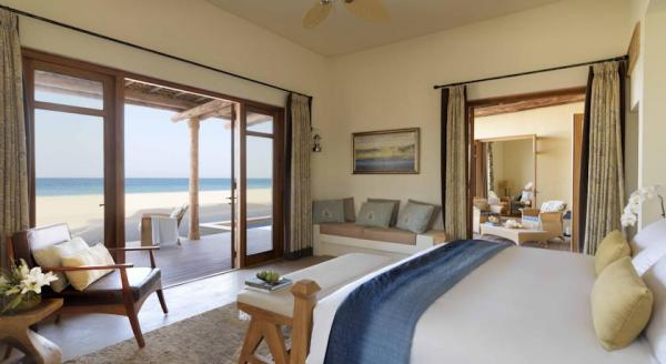 Hotel with private pool - Anantara Sir Bani Yas Island Al Yamm Villa Resort