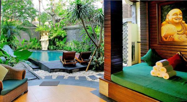 Hotel with private pool - The Bali Dream Villa Seminyak