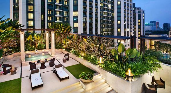 Hotel with private pool - Siam Kempinski Hotel Bangkok