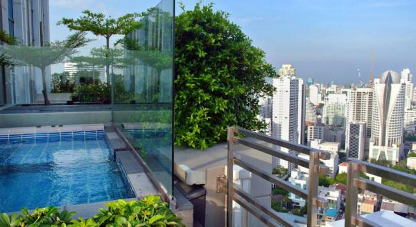 Hotel with private pool - Sofitel Bangkok Sukhumvit