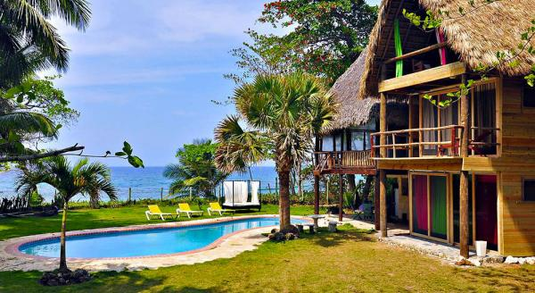 Hotel with private pool - Maravilla Cabarete Eco Lodge & Beach