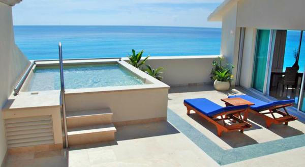 Hotel with private pool - Grand Park Royal Cancun Caribe - All Inclusive