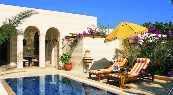 Hotel with private pool - The Oberoi Sahl Hasheesh