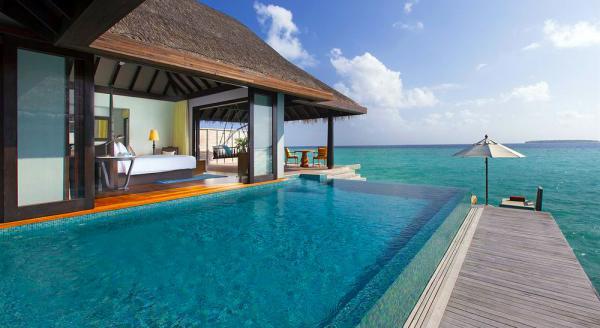 Hotel with private pool - Anantara Kihavah Maldives Villas