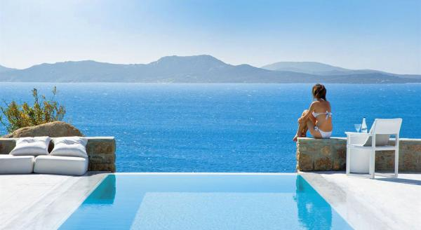 Hotel with private pool - Mykonos Grand Hotel & Resort
