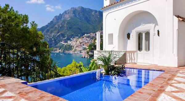 Hotel with private pool - Villa Treville