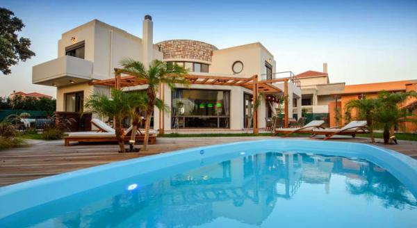 Hotel with private pool - Rhodes Gem Villa