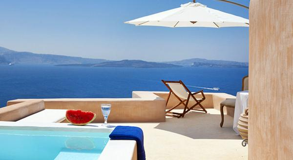 Hotel with private pool - Armeni Luxury Villas