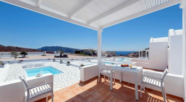 Hotel with private pool - Katharos Pool Villas