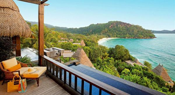 Hotel with private pool - Maia Luxury Resort & Spa Seychelles