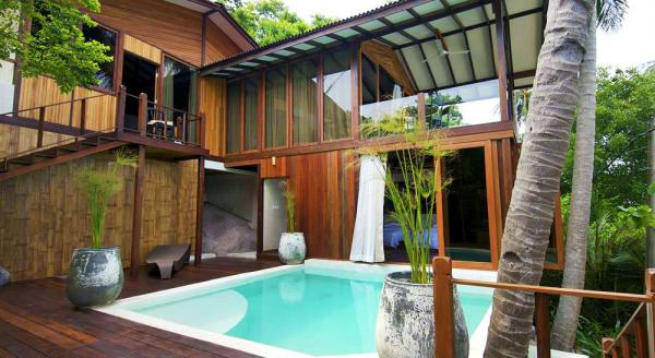 Hotel with private pool - Japamala Resort by Samadhi