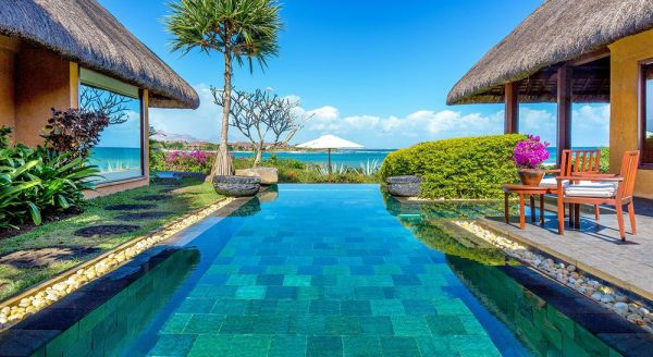 Hotel with private pool - The Oberoi Mauritius