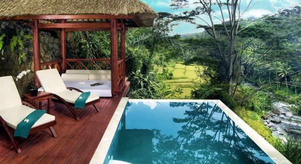 Hotel with private pool - Kupu Kupu Barong Villas and Tree Spa