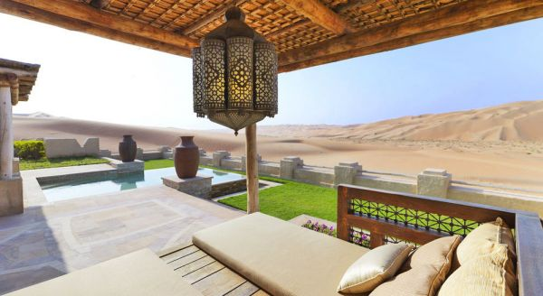 Hotel with private pool - Anantara Qasr al Sarab Desert Resort