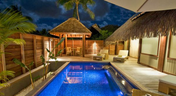 Hotel with private pool - Hilton Moorea Lagoon Resort and Spa