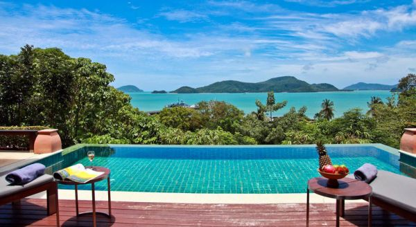 Hotel with private pool - Sri Panwa Phuket