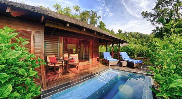Hotel with private pool - Bunga Raya Island Resort & Spa