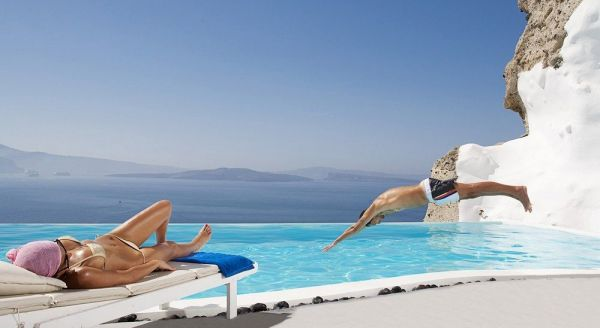 Greece Private Pool Hotel rooms, suites and villas