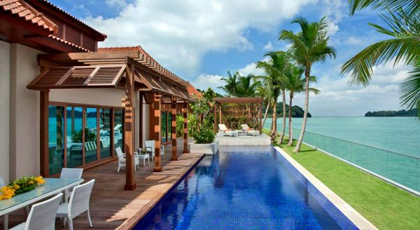 Hotel with private pool - Resorts World Sentosa - Beach Villas