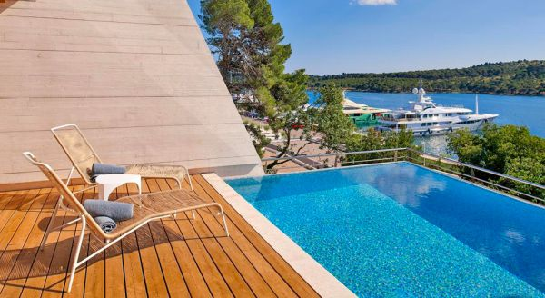 Hotel with private pool - D-Resort Sibenik