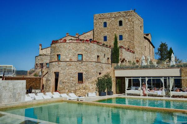 Hotels with spa - Castello di Velona - The Leading Hotels of the World